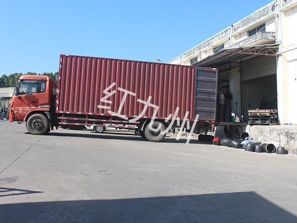 惠州护栏配件厂家-工厂一角