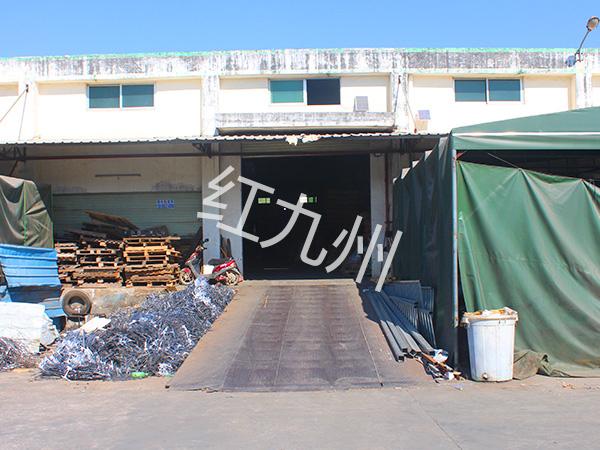 锌钢护栏配件厂家-工厂一角